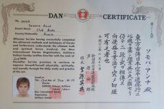 Сертификат 2 Дан Сомова