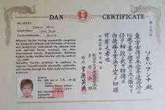 Сертификат 1 Дан Сомова
